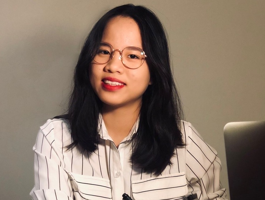 Photo of Alice Vo, Bachelor of Commerce student and Trinity College Foundation Studies graduate